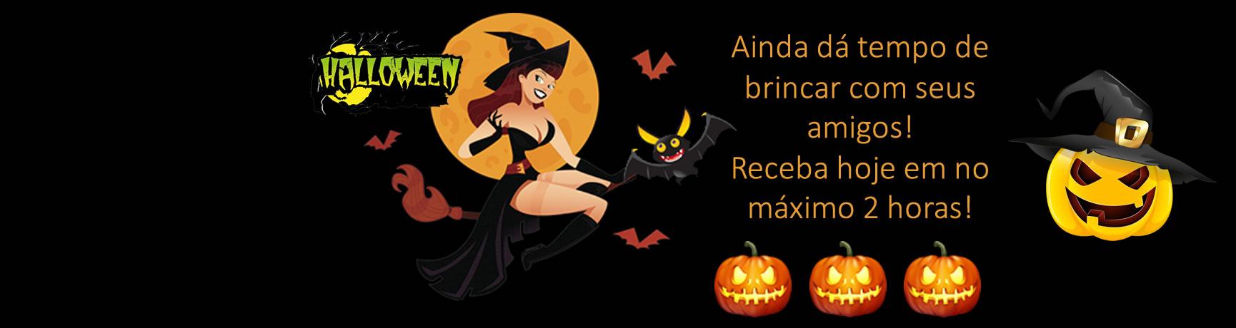 30/10 - Halloween Dia das Bruxas
