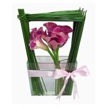 presente arranjo de flor com entrega a domicílio