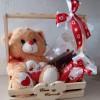 cesta com urso presente entrega rapida