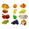 frutas naturais presente