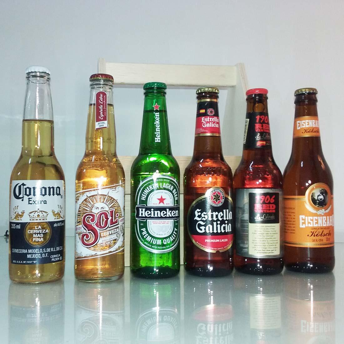 kit cervejas para presente