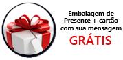 embalagem presente gratis