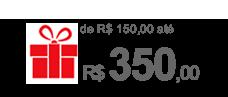presentes ate 350 reais