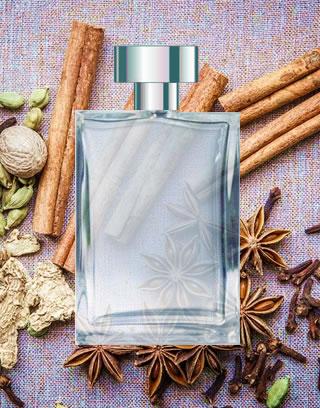 perfumes com especiarias presente com entrega