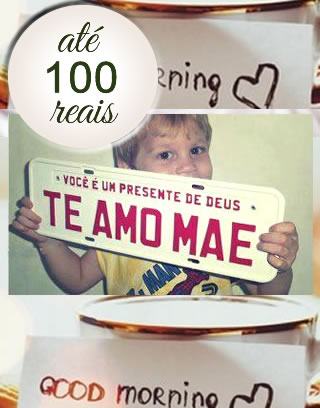 presentes até 100 reais