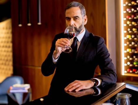 vinho para presente homem