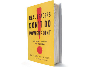 lideres de verdade nao usam power-point