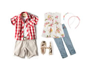 moda infantil para crianças de 3 a 6 anos